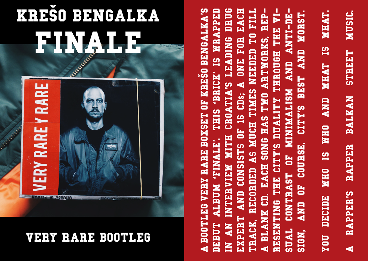 kreso bengalka, finale cd boxset, design by sven harambasic for very rare