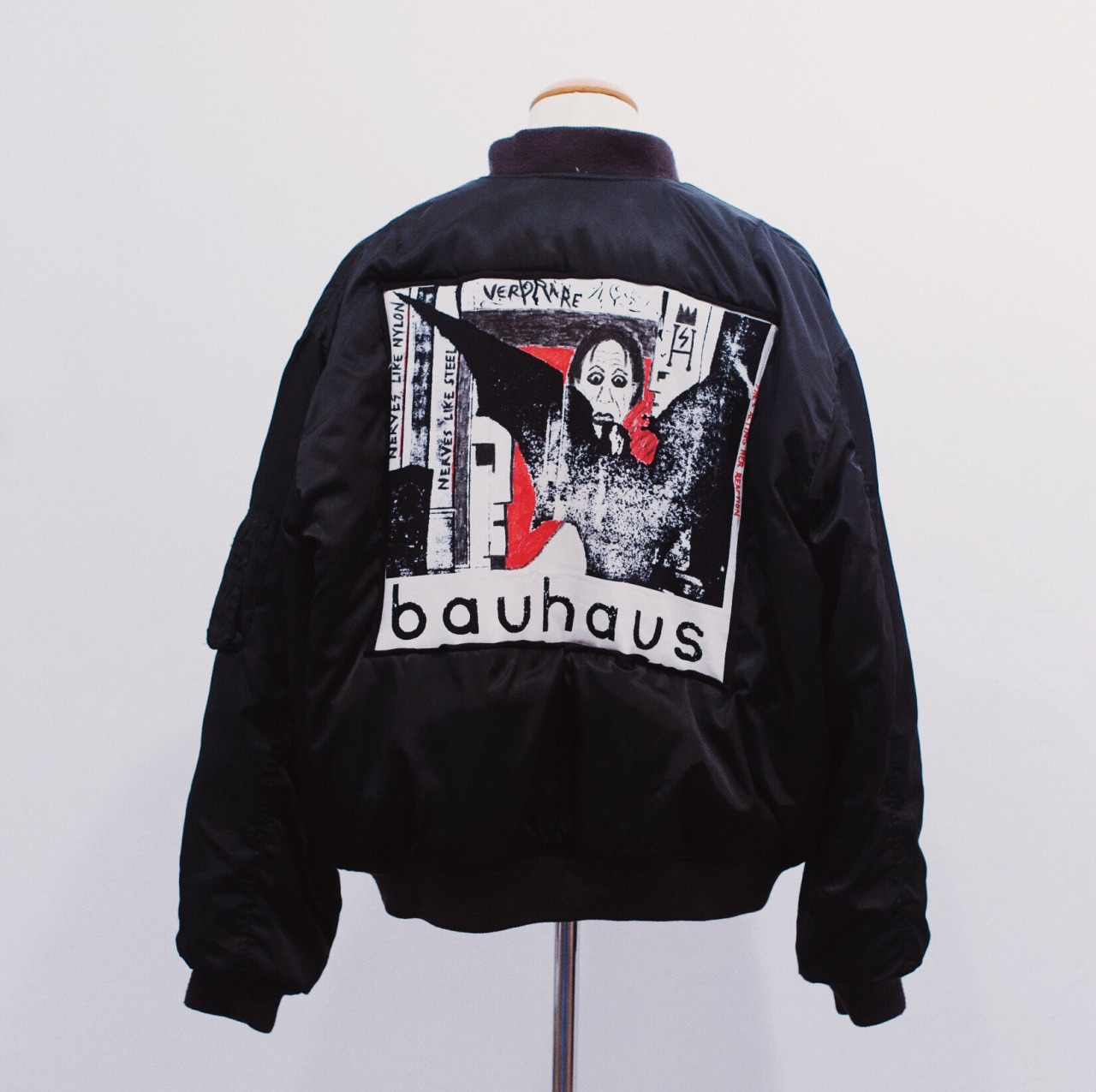 VERY RARE Bauhaus bomber jacket - by sven harambasic