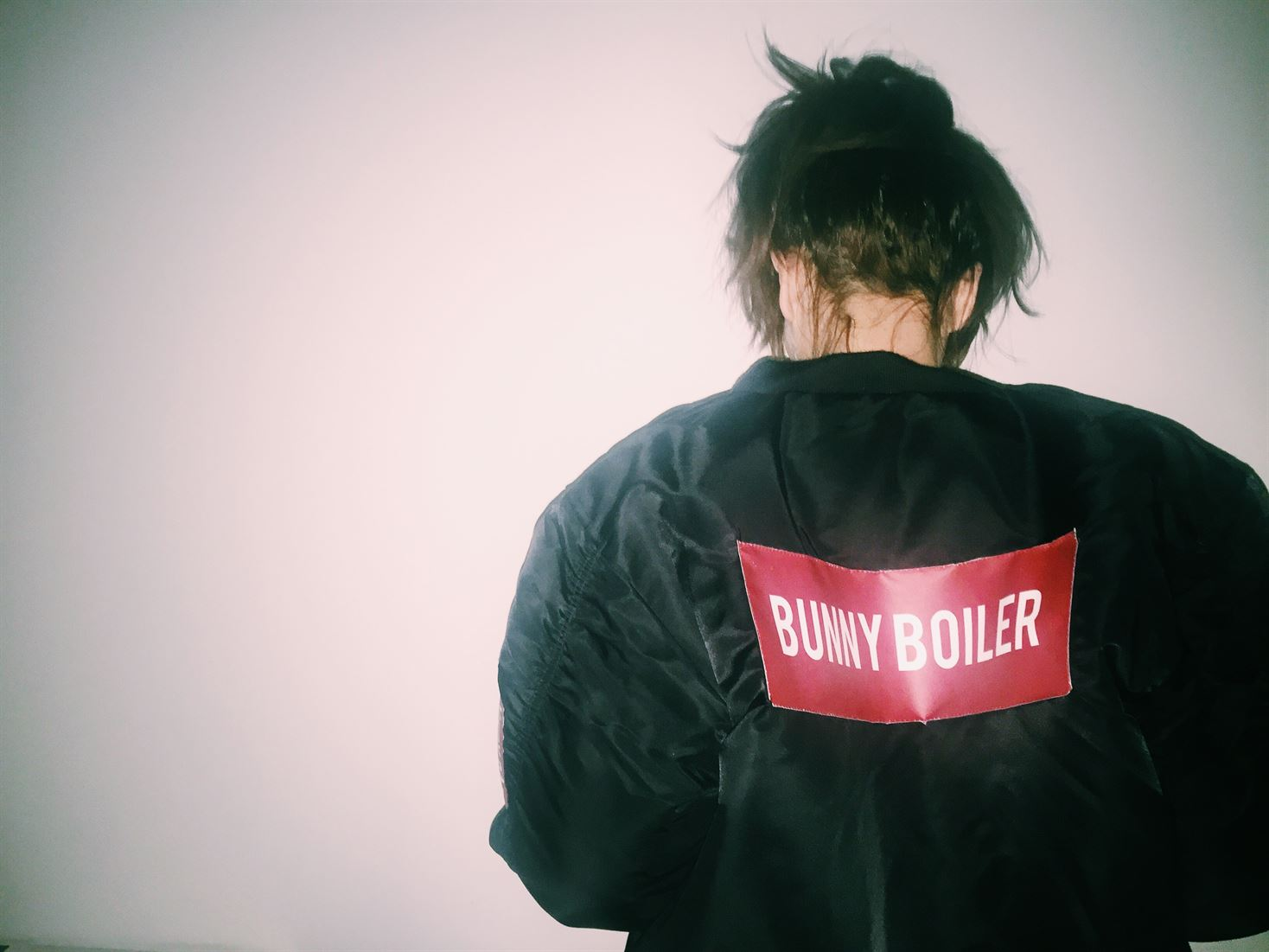 VERY RARE bunny boiler bomber jacket by sven harambasic