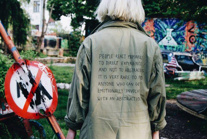 VERY RARE stanley kubrick m65 vietnam jacket - by sven harambasic