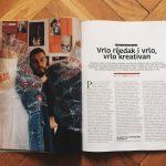 sven harambasic very rare feature in grazia magazine