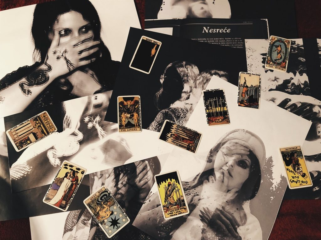 Chelsea Wolfe prints & Tarot cards by Sven Harambasic