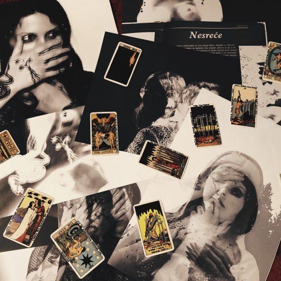 Chelsea Wolfe prints & Tarot cards by Sven Harambasic