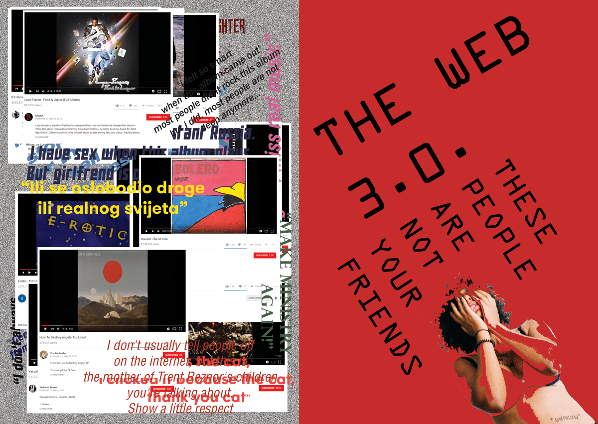 Sven Harambasic's magazine feature on internet devolution and its effects on society.