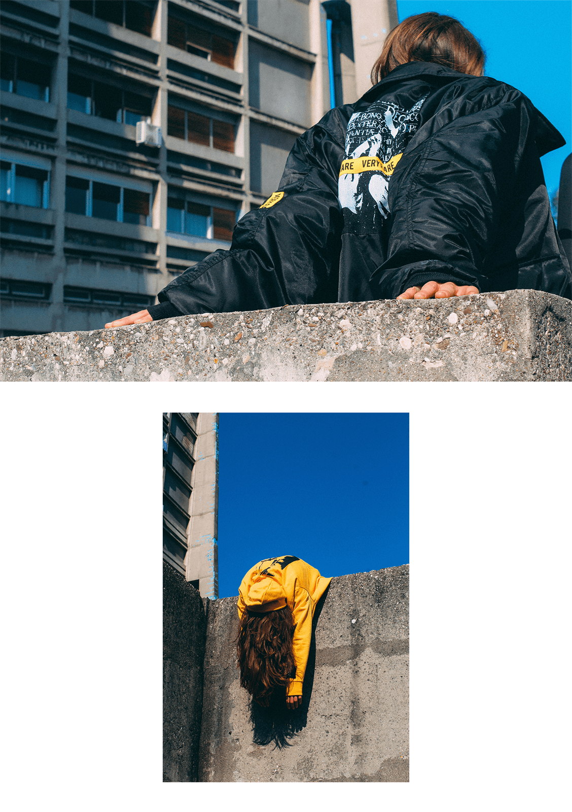 VERY RARE Tomorrow was the Golden Age Lookbook shot by Sven Harambasic