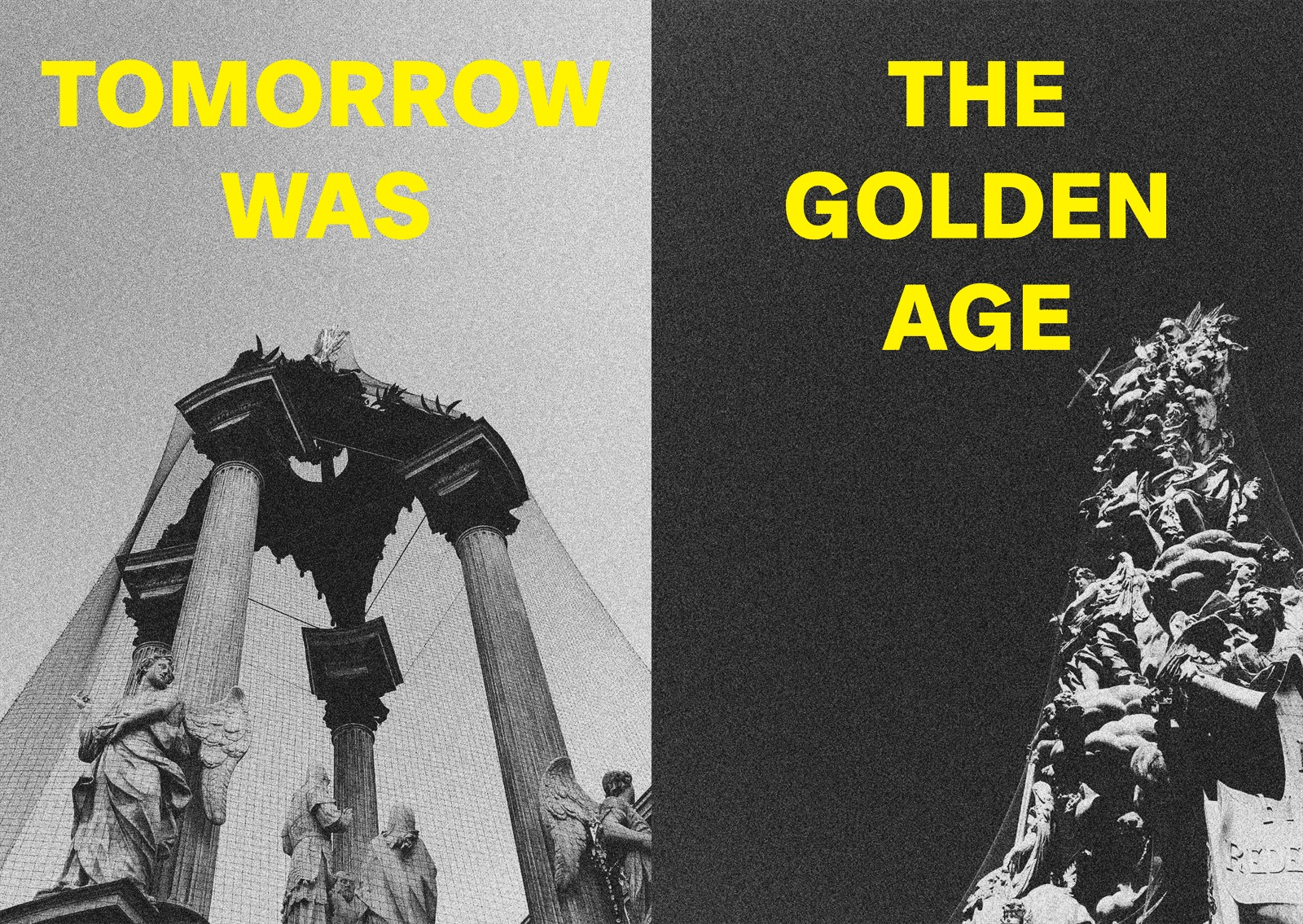 VERY RARE Tomorrow was the Golden Age zine, by Sven Harambasic