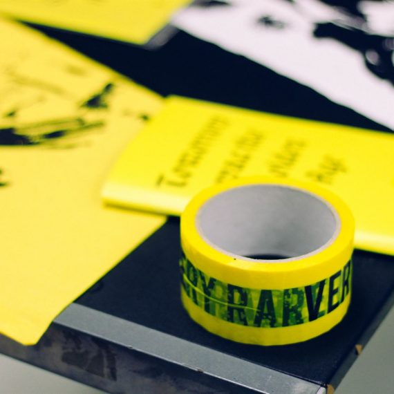 VERY RARE Some deaths last forever exhibition