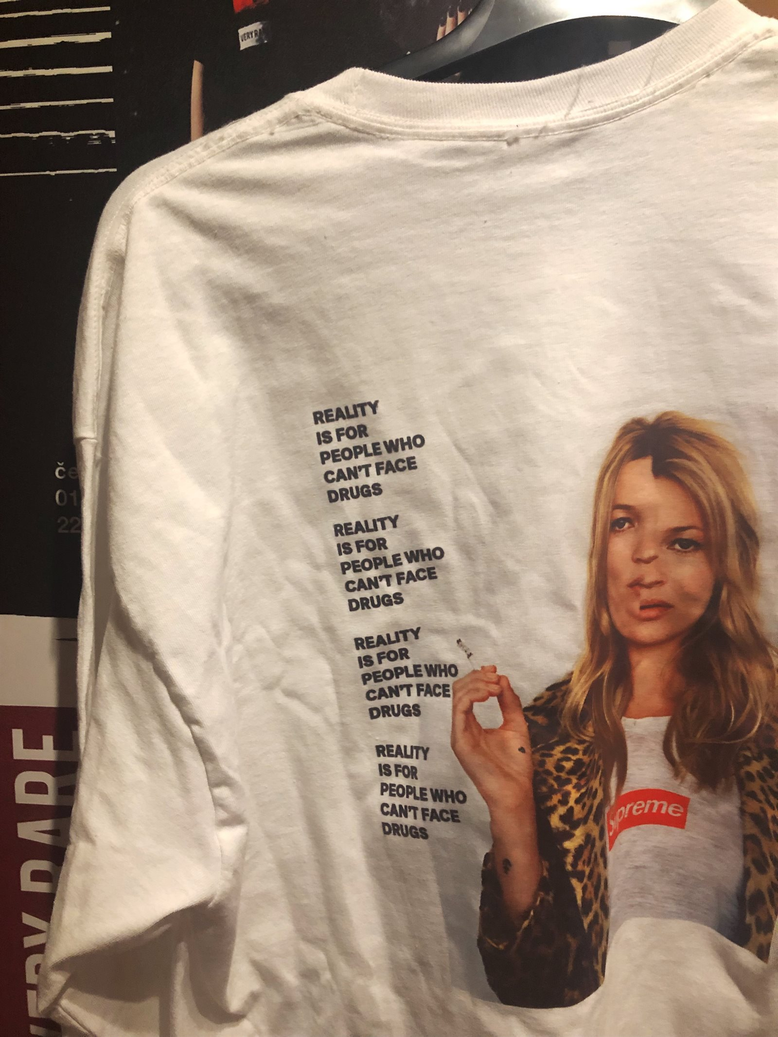 very rare kate moss supreme edit, sven harambasic