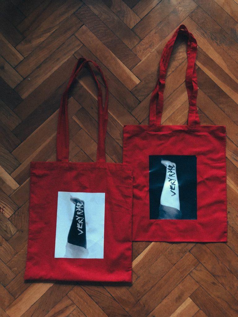 very rare tote bag by sven harambasic